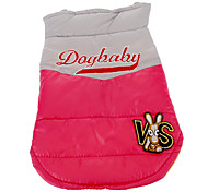 Cute Candy Color Dogbaby Warm Vest for Pets Dogs (Assorted Colors, Sizes)