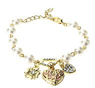 Bohenmia Heart&D with Pearl Bracelets