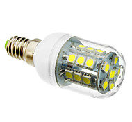 5W E14 Bombillas LED de Mazorca T 27 SMD 5050 lm Blanco Fresco AC 100-240 V