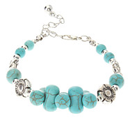 Vintage Style Bohême os Bracelet Turquoise