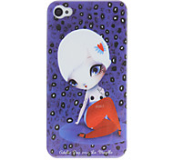 Sexy Lady Pattern PC Hard Case für iPhone 4/4S