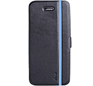 Double Color Flip Pu Flip Cover With Multifuntional Protective