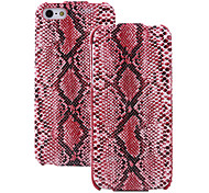 Snakeskin Pattern Leather Regulus Series Case for iPhone 5S