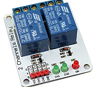 2-Channel 5V Relay Module Expansion Board for (For Arduino) (Works with Official (For Arduino) Boards)