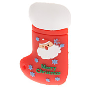 Plastic Christmas Stocking Model USB 4GB
