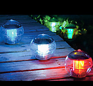 Color Changing Solar Power LED Floating Light Ball Lake Pond Pool Lamp