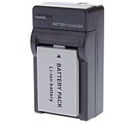 Замена батареи 3.7V 1150mAh литий аккумулятор + зарядное устройство для Canon BP-110