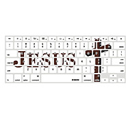 Jesus Cross Coffee Designed XSKN Silicon Laptop Keyboard Skin Cover for MacBook PRO MacBook Air