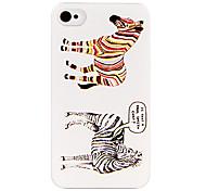 Zebra di caso per il iPhone 4/4S