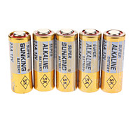 23A 12V Alkaline Battery Pack (5-Piece Pack)