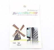 10X Clear Front Screen Protector for Samsung Galaxy S2 I9100