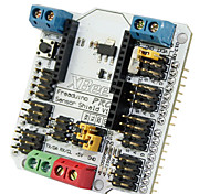 Fre(For Arduino) Sensor Shield V1.2 Expansion Board for (For Arduino) (Works with Official (For Arduino) Boards)