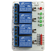 4-Channel 5V Relay Module Expansion Board for (For Arduino) (Works with Official (For Arduino) Boards)