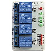4-Kanal-5V Relaismodul-Erweiterungskarte für (für die Arduino) (funktioniert mit offiziellen (für Arduino) Platten)