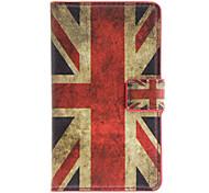 Inglaterra patrón de la bandera de caso completo de cuerpo con ranura para tarjeta para Nokia Lumia 925