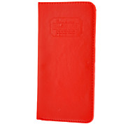 New Long Style Passport Pocket Wallet Case for iPhone 4/4S(Assorted Color)