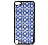 Shimmering Lovely Anchors Pattern Hard Case for iPod touch 5