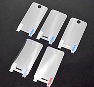 5 x LCD Front Screen Protector for iPhone 4