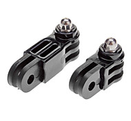 Miniisw M-MH 2~3 Way Parallel + Vertical Axis Hinge Mount Adapter Set for Gopro Hero 3 / 3+ / Hero 2