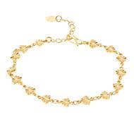 Herz Golden-überzogenes Armband