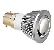B22 5W COB 6000K Cool White Light LED Spot Bulb (85-265V)