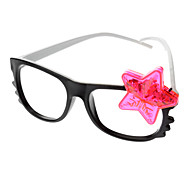 Kid's Star Style Glasses Toy with LED (Random Color)