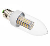 7W E26/E27 Luces LED en Vela 118 SMD 3528 620-640 lm Blanco Cálido AC 100-240 V