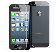 WPM05F EXCO Crystal Clear Screen Protector for iPhone5/5s(Transparent)