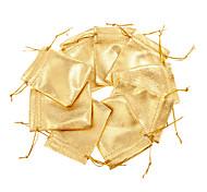 (100шт) claic золотой мешок ткани ювелирные изделия для торгового центра ювелирных изделий