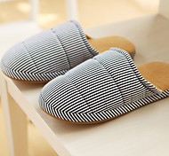 Casual Comfy Black Strips Man's Slid Slippers
