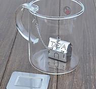 Filtro filtri in acciaio inox tè casa infuser pot tè alle erbe infusore