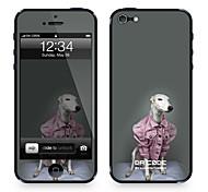 """Piel Código Da ™ para el iPhone 5/5S: """"Azawakh en una chaqueta"""" (Animals Series)"""