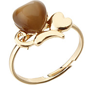 Korea Style Heart Adjustable Ring