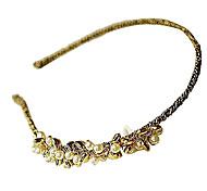 (1 PC) Horquillas dulce Oro de la perla para las mujeres (oro)