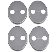 Protective ABS Car Door Lock Covers for Mazda5 CX-5 Mazda2 and More (4-Piece)