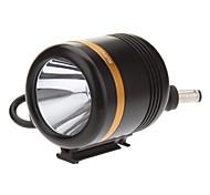 KISU 5-Mode Cree XM-L2 U2 LED Fahrrad Taschenlampe / Scheinwerfer (1230LM, 4x18650, Black + Gold)