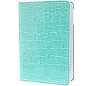 360 degrés de rotation crocodile cas d'impression pour l'ipad mini-3, Mini iPad 2, iPad mini (couleurs assorties)