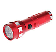 Single-Mode 14xLED Mini Fluorescent Flashlight Torch Blue (110LM, 3xAAA, Red)