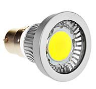 B22 3 W 1 COB 270-300 LM Cool White Spot Lights AC 85-265 V