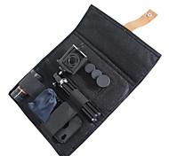Kit avec trépied et étui pour iphone 4/4S 4-en-1 Grand angle et Fish Eye et 2X Téléphone Lens et 8x Zoom Camera Lens