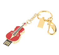 Metal Violin Función USB Flash Drive 32GB