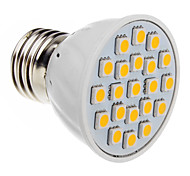 3W E26/E27 LED Spotlight 20 SMD 5050 230-250 lm Warm White AC 220-240 V