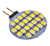 G4 3W 24x3528SMD 72LM Warm/Cool White Light LED Bulb for Car (DC 12V)