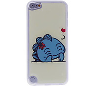 Lovely Smiling Animal Pattern Epoxy Hard Case for iPod Touch 5