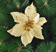 Árbol de navidad Decoración de oro Ornamento de la flor