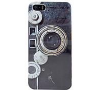 rétro cas dur de l'appareil photo pour iphone 5/5s