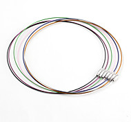 Classic Tondo Multicolor Stainless Steel Cord & Wire (10 pc / lotto) (Multicolor)