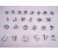 Dog tags DIY Letter Colorful Rhinestone Decoration of Harness for Pets Dogs