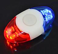 Durable 4-LED-Fahrrad-Sicherheits-Warnleuchte hinten