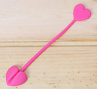 2 PCS Heart Shape Silicon String